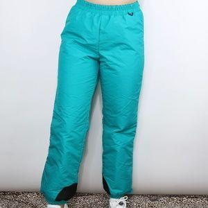 Vintage Columbia Teal & Purple Snow Pants S